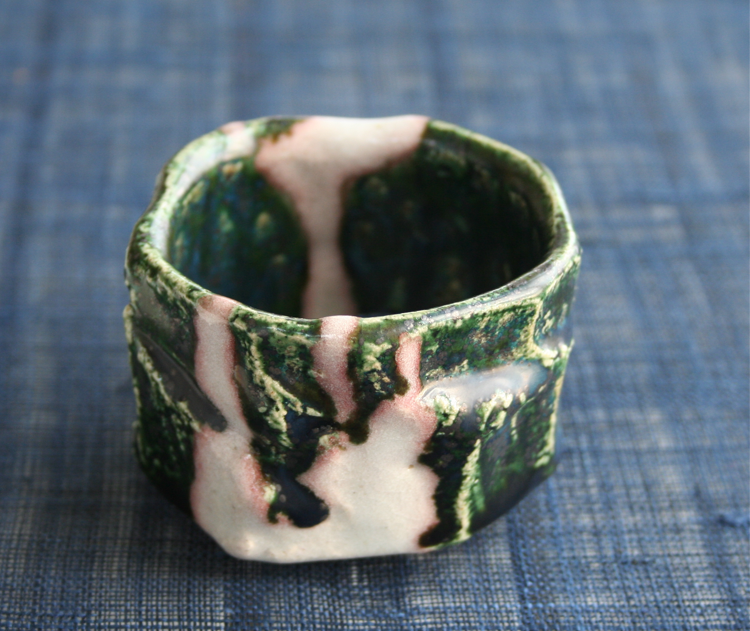 sake cup by Kouchi Hidetoshi