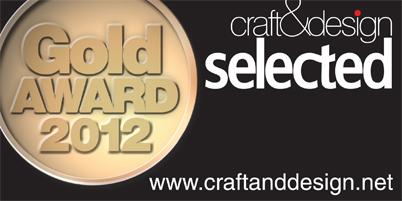 Patricia Shone Craft & Design Gold Award 2012