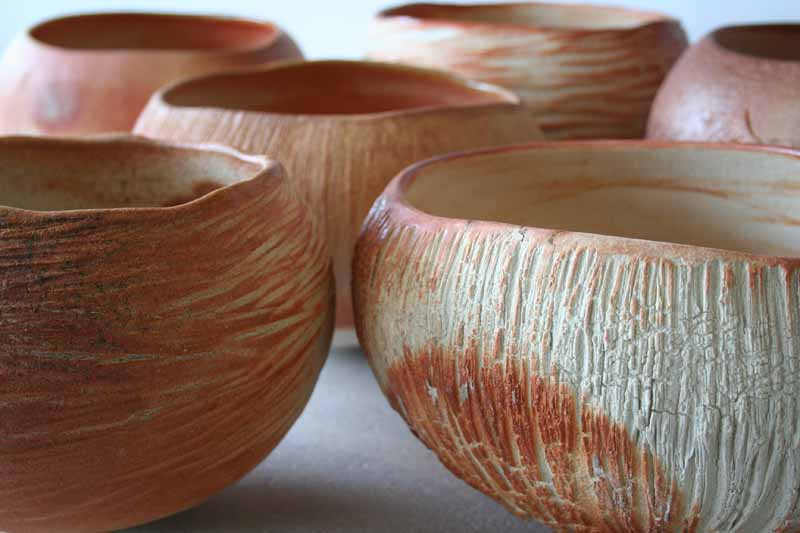patricia-shone-ceramics-skye-commission-erosion bowls-wood fired