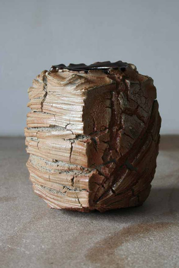 patricia-shone-ceramics-skye-erosion jar-wood fired