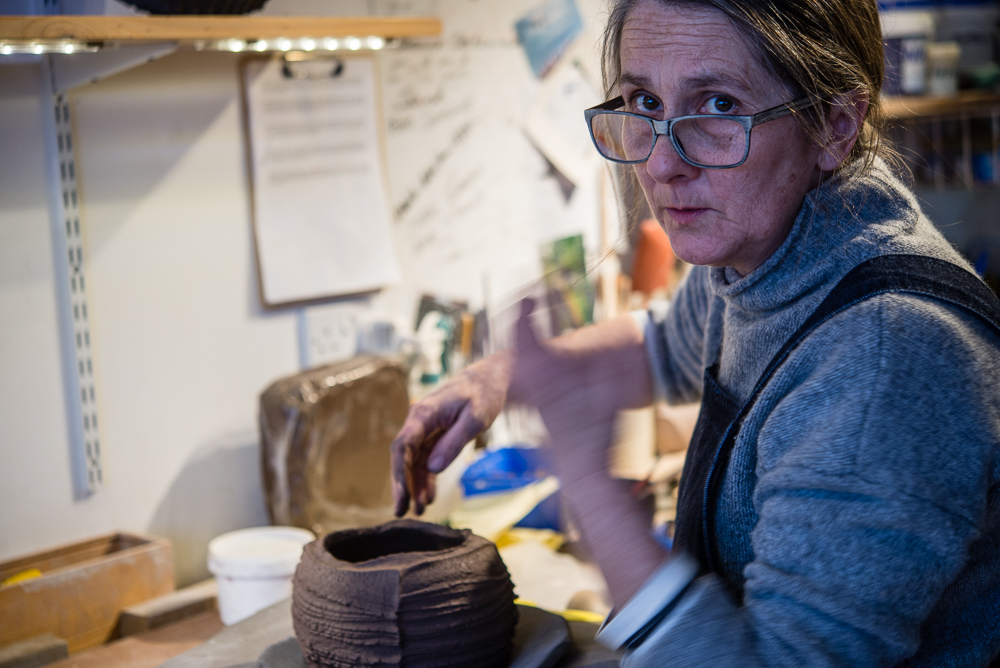 Masterclass at The Clay Loft, Stroud