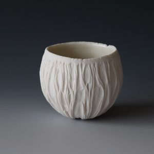 A small porcelain Erosion Cup
