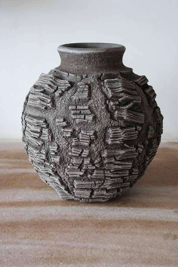Patricia Shone Ceramics, Erosion Jar