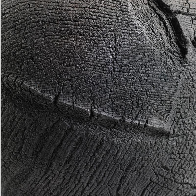 Patricia Shone Ceramics, Isle of Skye, Raku Texture Detail